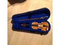 Stentor Student 1 Violin, 1/2 size For Sale