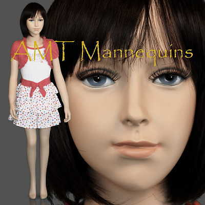 Child Fiberglass Hand Made Mannequin Abt 6 Years Old Boy Girl Manikin- Trey