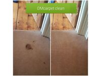 Carpet and upholstery cleaning, 3 for 2 promotion.