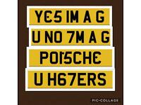 Private number plate plates registration Cherished quick sale