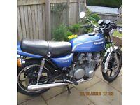 1978 KAWASAKI KZ650 BLUE VGC