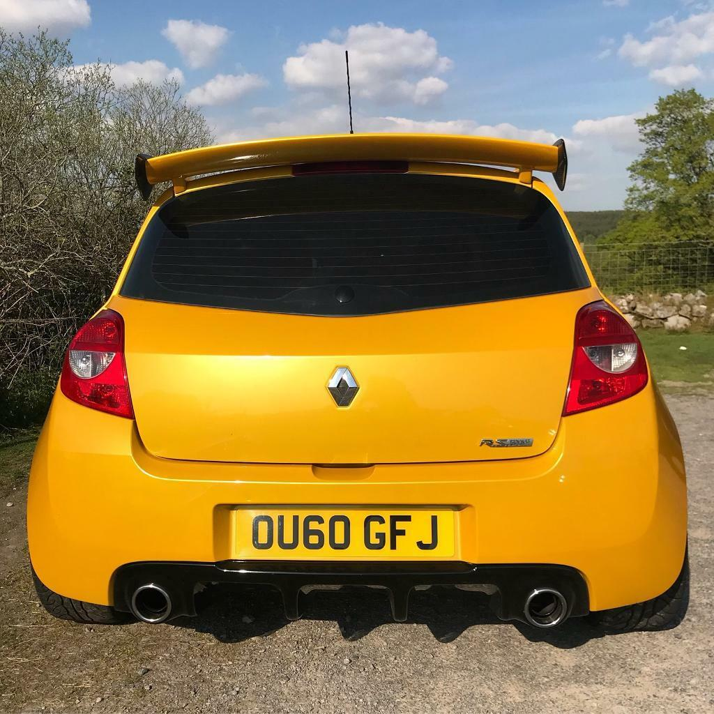 Renault Clio 197: Renault Sport Clio 200 Liquid Yellow Big Spec