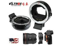 VILTROX EF-NEX III Auto Focus Lens Mount Adapter for Sony to Canon