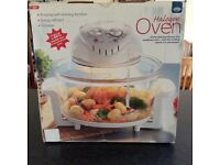 JML Halogen oven - brand new never been used still in original box