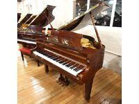 Offenbach PG-1 Baby Grand Piano Mahogany Polyester By Sherwood Phoenix Pianos