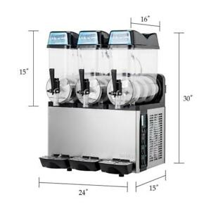 3 HEAD FROZEN SLUSH MACHINE