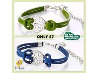 🌳 Tree Of Life Leather Bracelet Macmillan 🌳