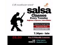 Harbourne Salsa Classes