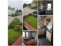 Houseswap wanted. I have two bed upstair four in a block with large garden, beautiful area IV19 1BY
