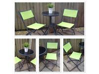 Bistro set . Patio set . Garden furniture