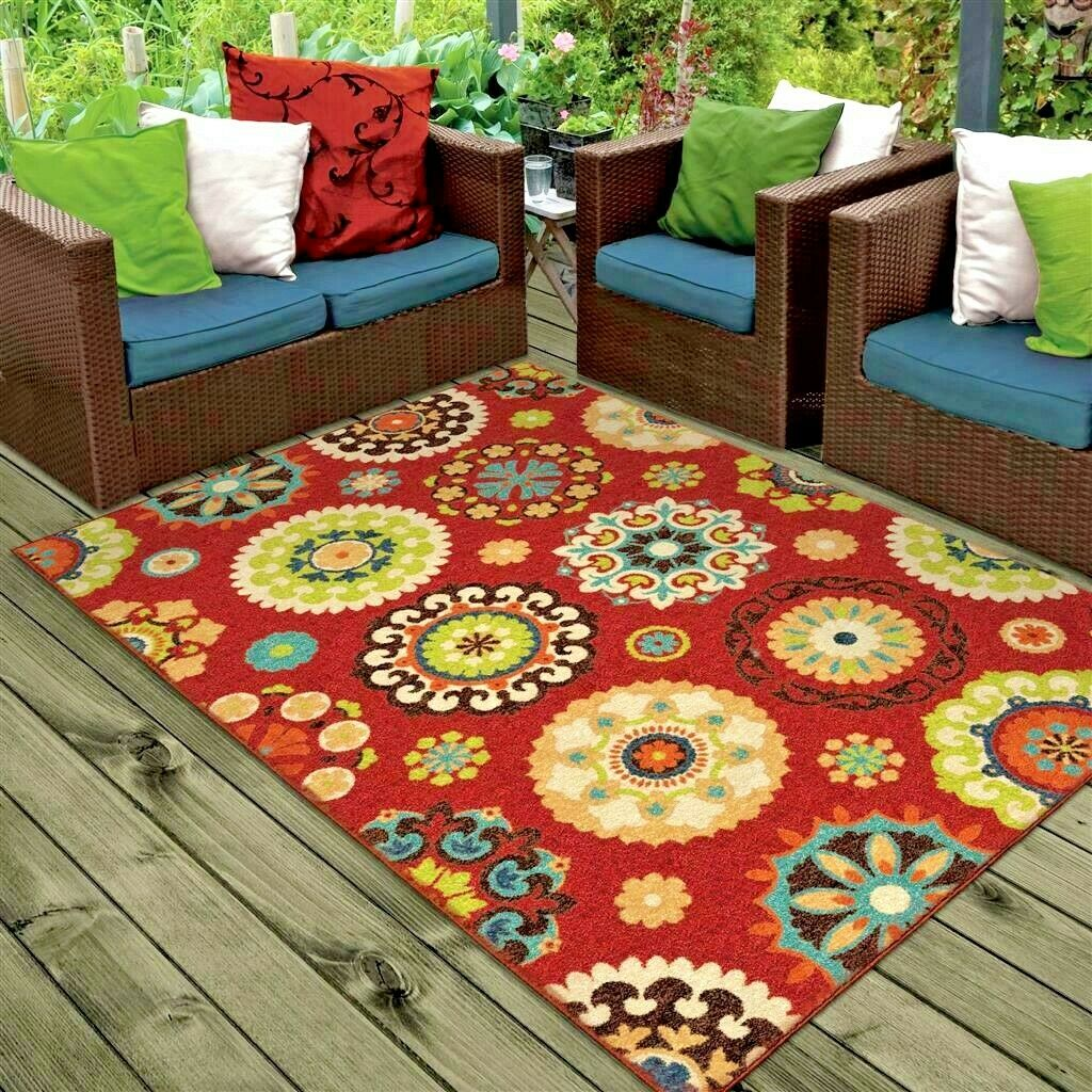 Rugs Area Outdoor Indoor