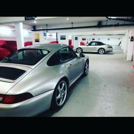 Car storage parking in oval London