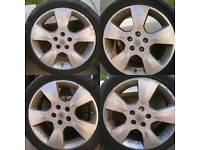 Vauxhall 17 inch. 5x110 Astra vectra zafira coupe corsa Omega alloy wheels