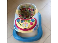 MAGHERAFELT/COOKSTOWN- CHICCO BABY WALKER IN EXCELLENT CONDITION