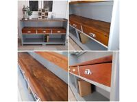 Vintage ,retro sideboard/ shelving unit