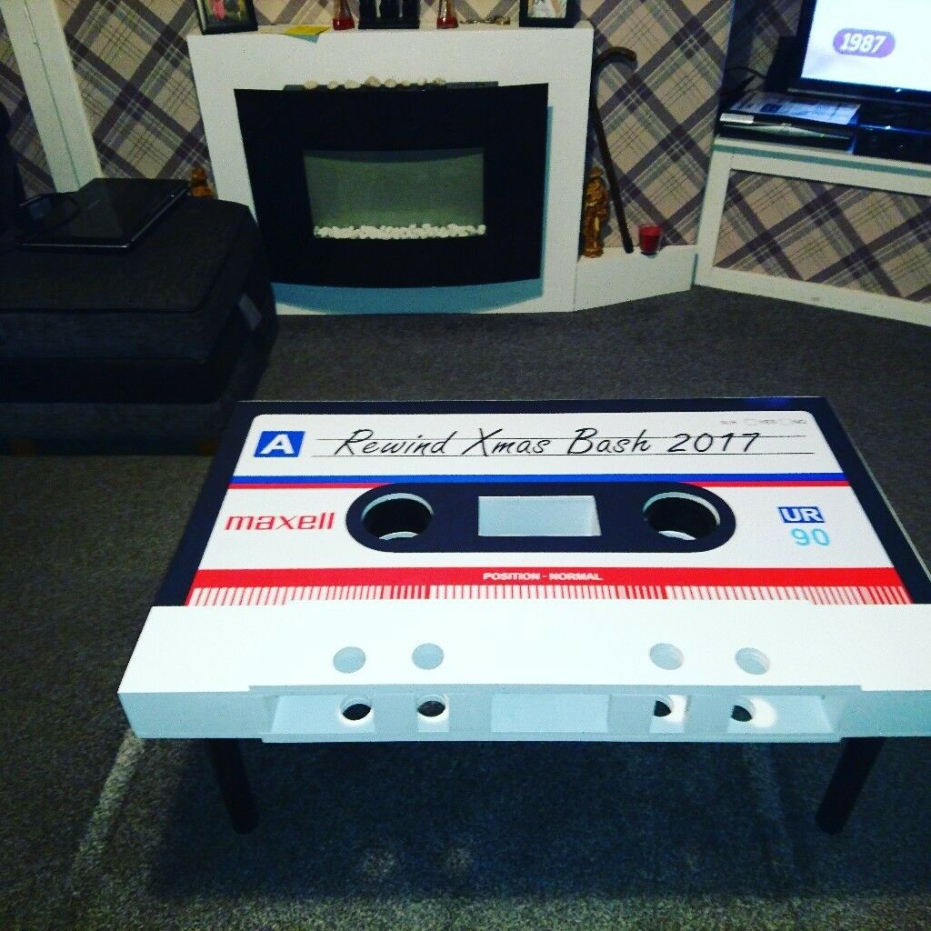 Cassette Coffee Table In Stirling Gumtree - Cassette coffee table