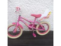 x2 Girl kid bike, pink child bicycle, balanced bike
