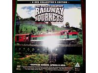 8 DVDs - The World's Greatest Railway Journeys - Collector's Edition