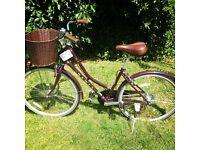 Purple Dawes Duchess Ladies Bike