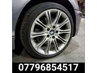 18 inch Staggered Bmw MV2 Alloy Wheels & Tyres - e36 e46 e60 330 M6 bmw alloys m3 mv3 325 1 series