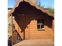Childrens Wooden 7ft x 7ft Playhouse