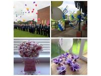 Wedding Day & Special Events Transforming Venues , Balloons, Flowers, Chocolate Bouquets