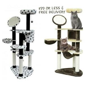 $99 OR LESS @  WWW.BETEL.CA || Brand New 60 Premium Cat Tree Condos & Activity Centres || FREE DELIVERY