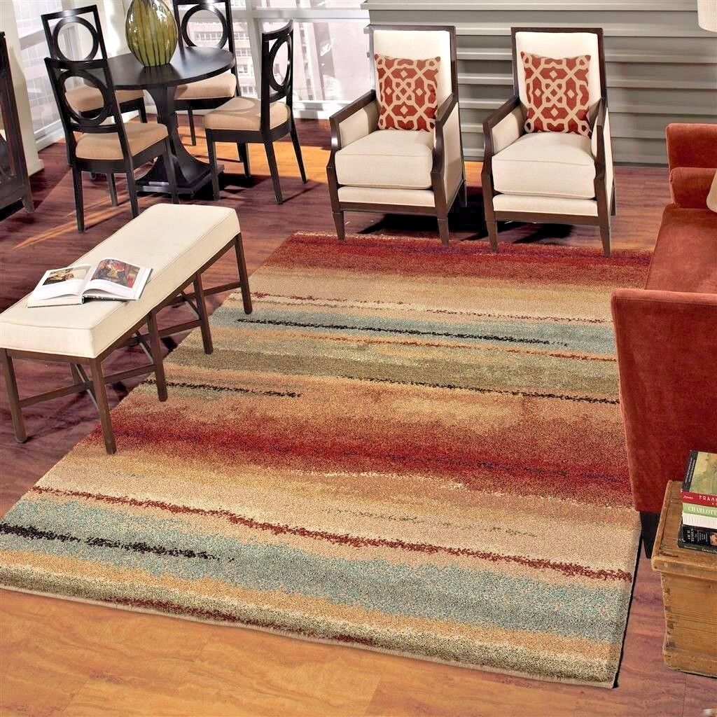 Rugs Area Rugs 8x10 Rug Carpet Living Room Large Modern Floor Plush