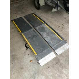 Mobility scooter access ramps - pair