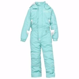 Trespass kids snowsuit, size 3-4 years 98-104cm