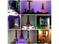 Chocolate Fountain Hire - Photo Booth Photobooth - Fruit Palm Trees - **Package Discount**