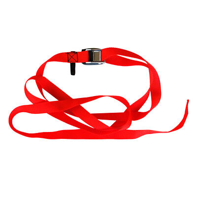 Cam Strap Tie Down with PVC Protector Pad for Kayak Surf Board Car Roof Rack ()