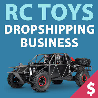 Rc Toys Dropshipping Store - Turnkey Website Business