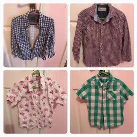 Boys shirts 4-5 years