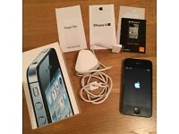 iphone 4s 32gb. Black. Unlocked. Boxed. WIth Charger. Factory Reset