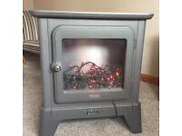 Electric Fire - Delonghi Cast Iron Effect