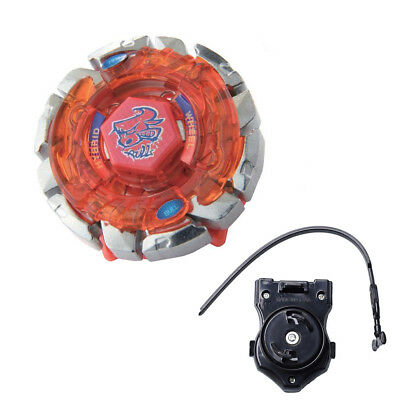 Dark Bull Metal Fusion Fight 4D Beyblade BB40 With 3013PSL Power Launcher NI