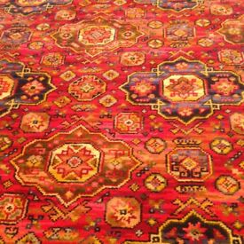 Axminster, Patterned Carpet, 4 pieces in good used condition