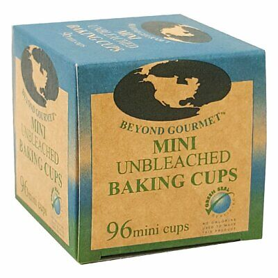 Beyond Gourmet Mini Muffin Cups, Box 96, Natural (Gourmet Muffin)