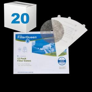 Queen Filter Cone 12 Pack Case Of 20