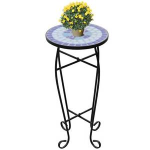 Mosaic Side Table Plant Table Blue White(SKU 41128)vidaXL Mount Kuring-gai Hornsby Area Preview