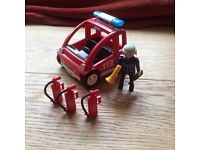 Playmobil Fire Chief and Car 3177