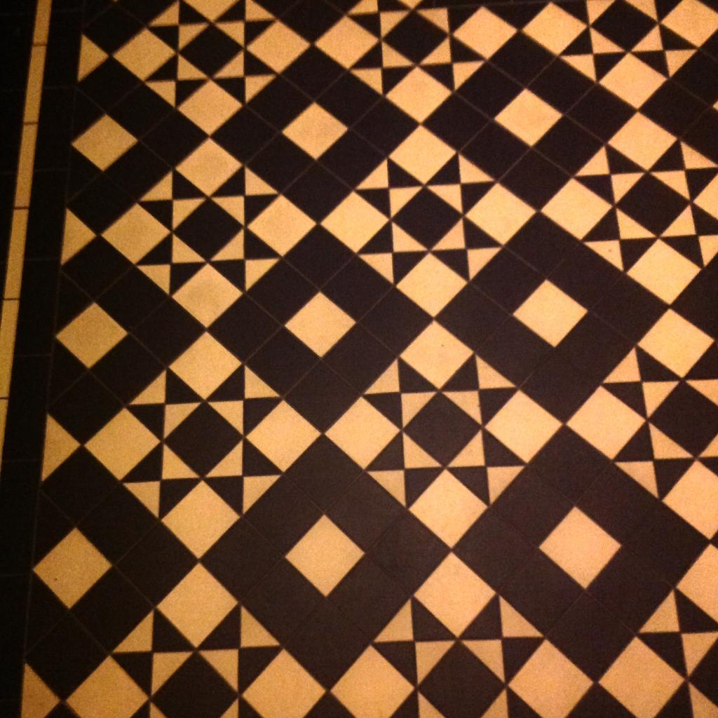 Original Style Victorian Geometric Floor Tiles Braemar In