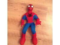 Large Talking Spiderman Plush Toy