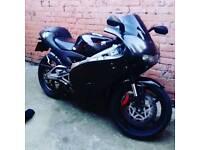 Aprillia rs 125 full speed
