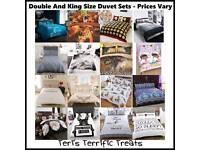 Duvet sets - various prices