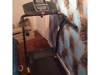 New opti electric treadmill