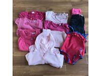 Girls age 9-12 months clothing bundle, Next, M&S