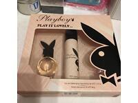 Playboy perfume gift set