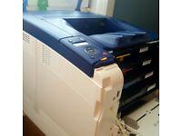 Sold Used Xerox Phaser 6600DN, A4 Colour Duplex Laser Printer, LOW MILEAGE.